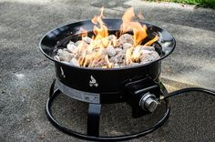These Gas Fire-pits can be a Great Way to Enjoy a Campfire Without the Negative Side Effects