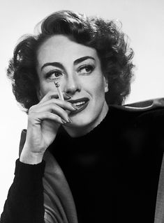 Joan Crawford photographed by Yousuf Karsh, 1949.