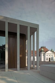 David Chipperfield Architects – Museum of Modern Literature Neoclassical Architecture, Arch Architecture, Futuristic Architecture, David Chipperfield Architects, B & B, Interior Design, Daily Inspiration, Design Inspiration, Design Ideas