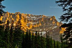 The Rocky Mountain Morning Light