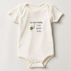 #It's Not A Hobby Baby Bodysuit - #knitting #gifts