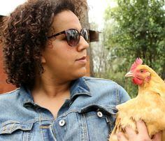 Brittany Howard of Alabama Shakes. And a chicken.