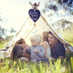 love grows here  - love this idea for a family shoot!