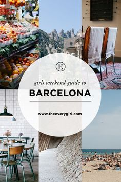 "The Everygirl's Weekend City Guide to Barcelona, Spain <a class=""pintag searchlink"" data-query=""#theeverygirl"" data-type=""hashtag"" href=""/search/?q=#theeverygirl&rs=hashtag"" rel=""nofollow"" title=""#theeverygirl search Pinterest"">#theeverygirl</a>"