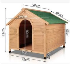 How to make a simple doghouse step by step diy tutorial instructions projects pinterest - Casa para perro mediano ...