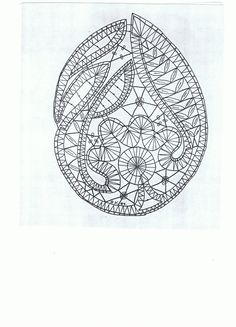 Ontwerp: Bep Vianen. Bobbin Lace Patterns, Weaving Patterns, Lace Embroidery, Embroidery Patterns, Fabric Stiffener, Bruges Lace, Lacemaking, Point Lace, Lace Jewelry