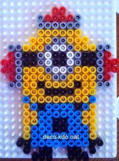 Minion hama perler beads by deco.kdo.nat