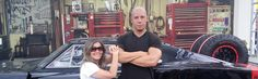 Fran at Fast & Furious Supercharged, Universal Studios, California.