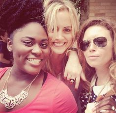 lgbt-equality-for-everyone: Danielle Brooks, Taylor Schilling and Natasha Lyonne from OITNB