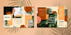 Corporate Brochure Design, Brochure Layout, Layout Template, Brochure Template, Art Minimaliste, Leaflet Design, Photographer Branding, Graphic Design Tutorials, Flyer Design