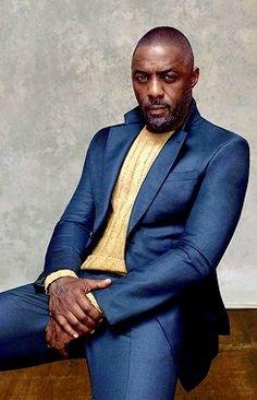 Idris Elba photographed by Robbie Fimmano for Maxim Magazine