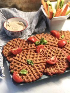 Αλμυρές βάφλες με καρότο, χωρίς γλουτένη & χορτοφαγικές! – Gfhappy Waffles, Vegan Recipes, Gluten Free, Breakfast, Food Ideas, Happy, Chef Recipes, Cooking, Glutenfree