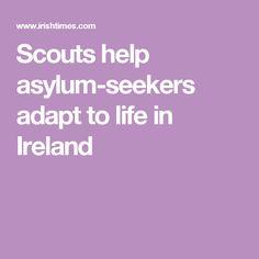 Scouts help asylum-seekers  adapt to life in Ireland