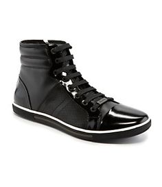 Kenneth Cole New York Base Down Casual High-Top Sneakers | Dillard's Mobile