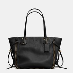 East/West Tatum Tote in Whiplash Leather