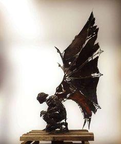 Sculpture by Flavio Zarck