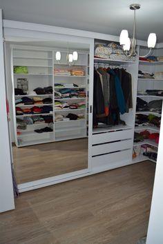 Mobila Compartimentare Dressing in U