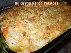 Au Gratin Ranch Potatoes