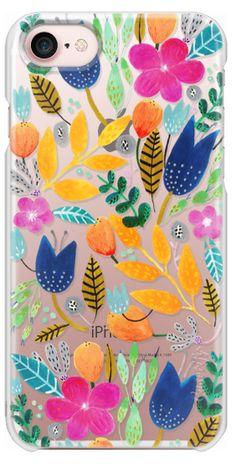 Casetify iPhone 7 Snap Case - Flower Mayhem by Iisa Mönttinen