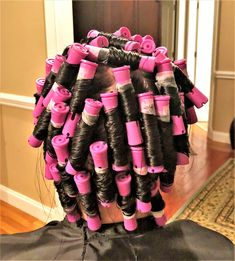 Perm Rods, Roller Set, Perms, Curlers, How To Take Photos, Color, Vintage, Colour, Colors