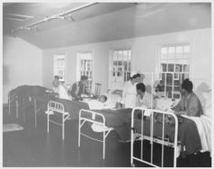 [Photo] First ward of the hospital at Jerome War Relocation Center, Arkansas, United States, 17 Nov 1942 Japanese American, Medical Care, Countries Of The World, World War Two, Arkansas, United States, Camping, Wwii, Presentation