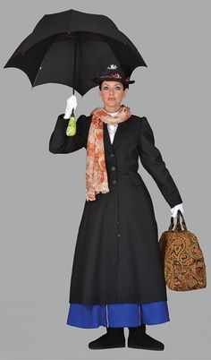 Mary Poppins Costume #T1304  Click the image to go to our website for descriptions, prices and availability.  All costumes are for sale or rent unless otherwise noted.  We ship worldwide, Monday through Saturday.