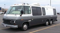 1976 GMC Motorhome. My high school crowd had many an adventure in one much like this!