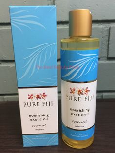 Bath Oils: Pure Fiji Nourishing Exotic Oil Coconut Infusion 8Oz - New In Box And Fresh! -> BUY IT NOW ONLY: $30.9 on eBay!