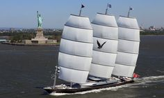 Sail on/in the Maltese Falcon.  Learn about it more first hand! :)