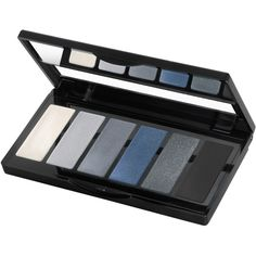 Isadora Eye Color Bar ($17) ❤ liked on Polyvore featuring beauty products, makeup, eye makeup, eyeshadow, beauty, blue, grey temptation, womens-fashion, palette eyeshadow and isadora eyeshadow