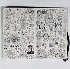 Love to look at artist's sketchbooks and journals.