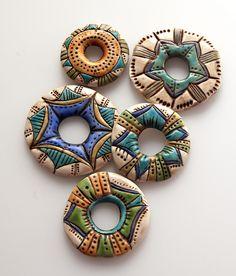 five donut beads | by SelenaAnne                              …