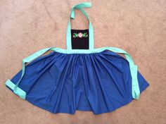 Disney Princess Inspired Anna Dress Up Apron by JeannineChristian