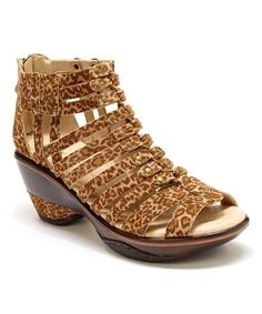 Loving this Sugar Leopard Sandal on #zulily! #zulilyfinds