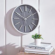 Glitter Mirrored 50cm Wall Clock Silver   Dunelm Silver Wall Clock, Grey Wall Clocks, Mirror Wall Clock, Kitchen Wall Clocks, Wall Clock Design, Bedroom Clocks, Wall Clock Hands, Cute Clock, Clock Display