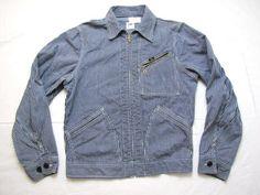 vintage lee work jacket. #vintage #workwear