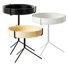 Drum table by Swedese