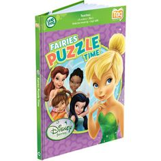 LeapFrog Tag Game Book, Disney Fairies Puzzle Time