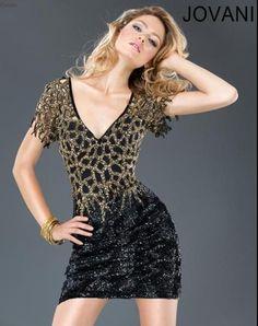 Jovani Black Cocktail Dresses
