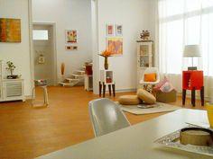 White, Bright, Sunny, Orange, Dining Room, Styled by Niyoti
