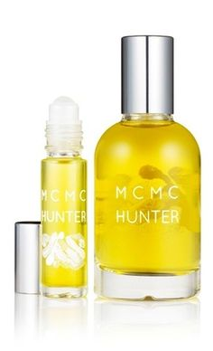 """Hunter by MCMC Fragrances - """"tobacco absolute, organic Bourbon vanilla and fir balsam, this fragrance is best when worn with a flannel shirt."""""""