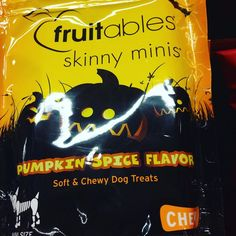 Even the dogs get #pumpkinspice. #wholefoods #cambma #crazy #itsathingforeveryone #dogtreats #pumpkin #ott #wholefoodsrvr by tinyhanger October 23 2015 at 12:41AM