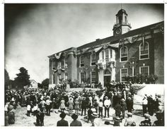 Description of . Dearborn City Hall Photo courtesy of Dearborn Historical Museum Dearborn Heights, Dearborn Michigan, Media Center, Looking Back, Museum, History, City, Building, Places