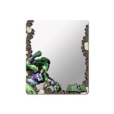 MARVEL UNIVERSE Locker Mirror  SHEHULK 2014 Variant Cover 1 Action Pose Breaking Bricks >>> Be sure to check out this awesome product.Note:It is affiliate link to Amazon.