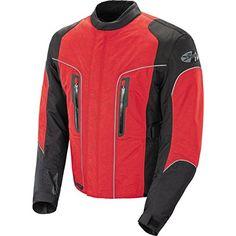 Joe Rocket Alter Ego 3.0 Mens Textile Street Bike Racing Motorcycle Jacket  Black/Red / Large https://motorcyclejacketsusa.info/joe-rocket-alter-ego-3-0-mens-textile-street-bike-racing-motorcycle-jacket-blackred-large/