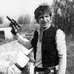 Young Harrison Ford as Han Solo. Harrison Ford (born July is an American actor and film producer. He gained worldwide fame for his starring roles as Han Solo in the Star Wars film series and as the title character of the Indiana Jones film series. Star Wars Rebellen, Star Wars Cast, Star Wars Watch, Harrison Ford, Saga, Mick Jagger, Indiana Jones, Mundo Dos Games, Alec Guinness