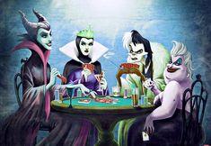 Ursula Disney, Disney Villains Art, Disney Fan Art, Disney Characters, Witcher Wallpaper, Disney Princess Tattoo, Punk Princess, Princess Luna, Disney Evil Queen