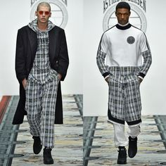 3 fashion labels who are redefining high end sportswear for men: Astrid Andersen FALL WINTER 2016