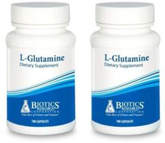 Biotics-Research-L-Glutamine-180-Capsules-2-PACK-5211-Exp-9-18-SD