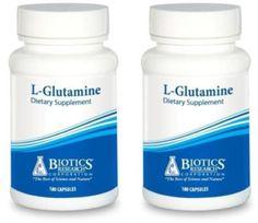 Biotics-Research-L-Glutamine-180-Capsules-2-PACK-5211-Exp-9-18-SD